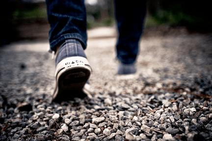 walking through life
